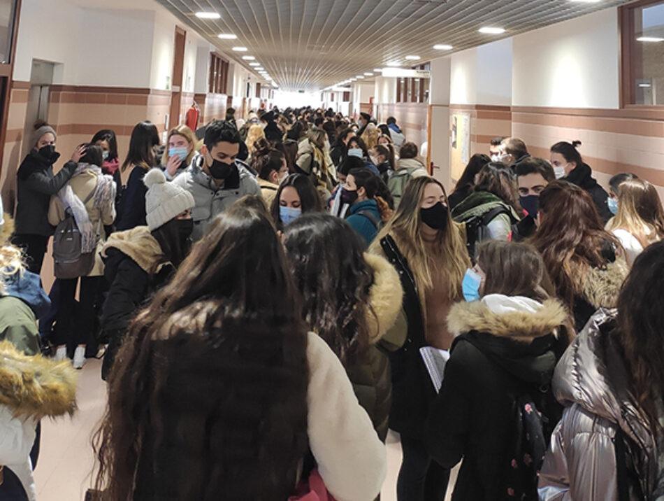 ¡Cancelación de los exámenes presenciales en la Universidad!