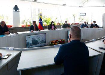 Vicepresidenta Ejecutiva dirige reunión de articulación para visita de Relatora Especial de la ONU a Venezuela