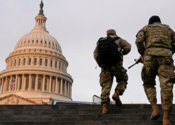 El Servicio Secreto de Estados Unidos crea una 'Zona Verde' y una 'Zona Roja' en Washington antes de la toma de posesión de Biden