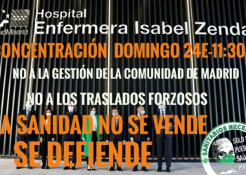 Sanitarixs Necesarixs Madrid convoca una concentración en el Hospital de Emergencias Isabel Zendal: 24-E
