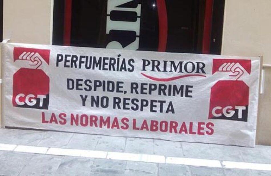 """Perfumerías PRIMOR continúa con su particular """"holocausto"""" hacía quienes le exigen el respeto a la legalidad y el cese de los abusos"""