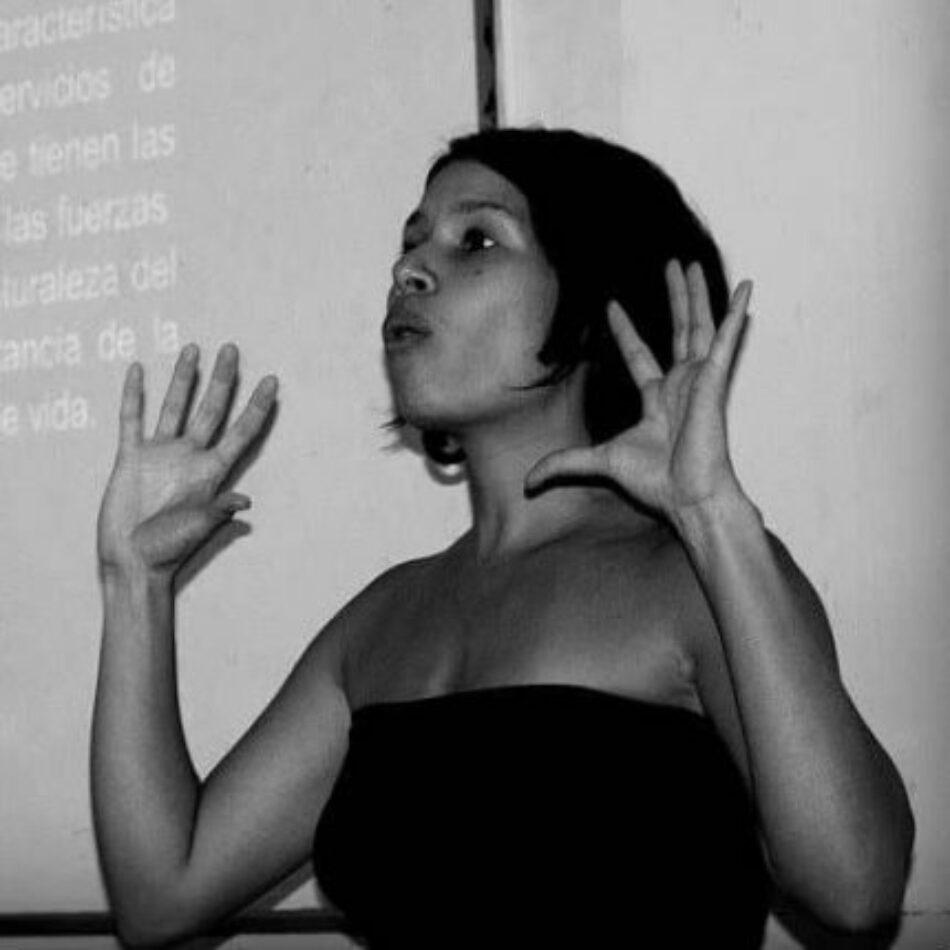 Aimeé Zambrano Ortiz: El femicidio no es una enfermedad que se cura con vacunas