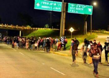 Nuevo grupo de hondureños partirán este viernes rumbo a EE.UU.