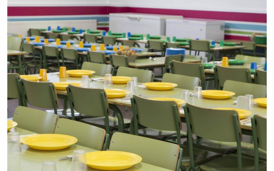 Podemos Granada exige a la Junta de Andalucía que se garantice el servicio de comedor escolar en todos los colegios de la provincia de Granada