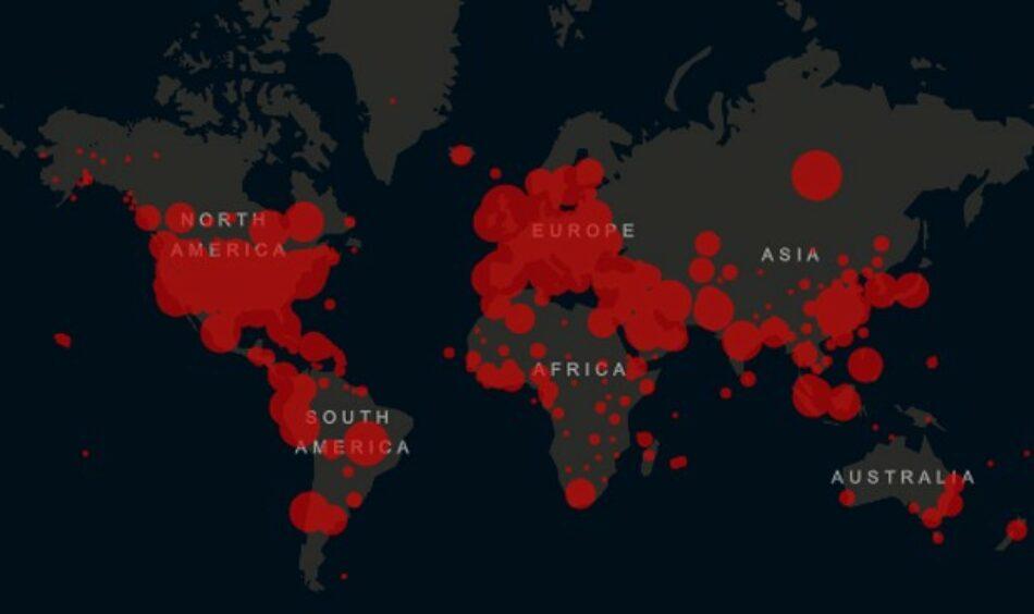 COVID alcanza los 83 millones de contagios el primer día de 2021