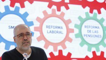 CCOO y UGT anuncian movilizaciones el 11 de febrero para exigir al Gobierno que suba el salario mínimo y derogar la reforma laboral y la de pensiones