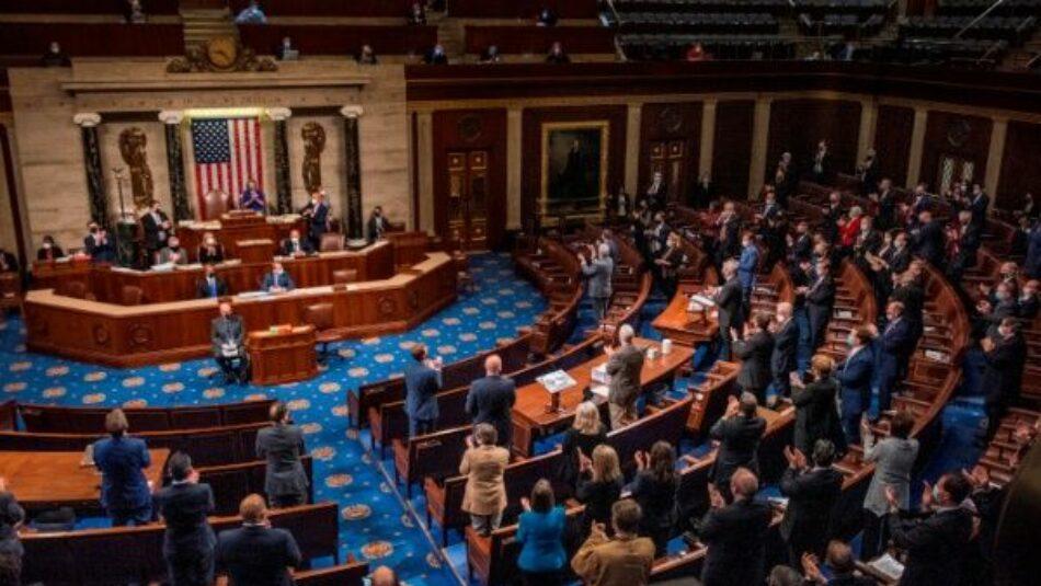 Congreso certifica elección de Joe Biden como presidente de EE.UU.