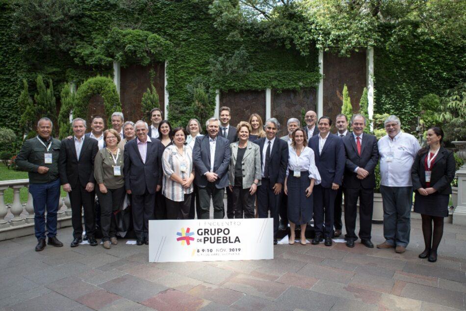 """Grupo de Puebla rechaza decisión de EEUU. de incluir a Cuba en la lista de """"Estados que patrocinan el terrorismo"""""""