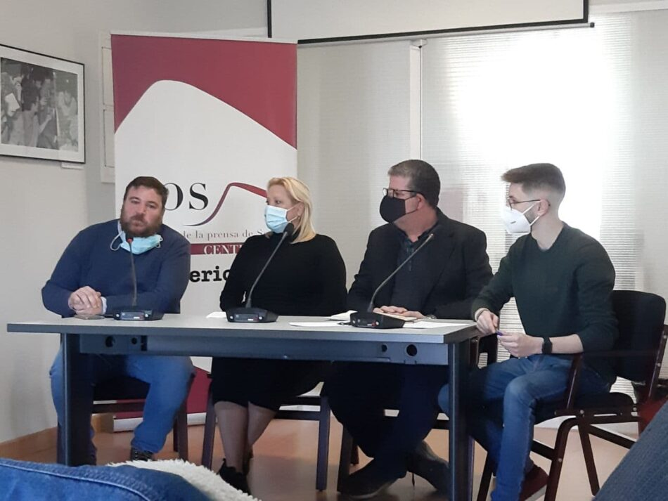 'Andalucía no se rinde' presenta su asamblea en Sevilla y hace un llamamiento a la ciudadanía a participar en ella