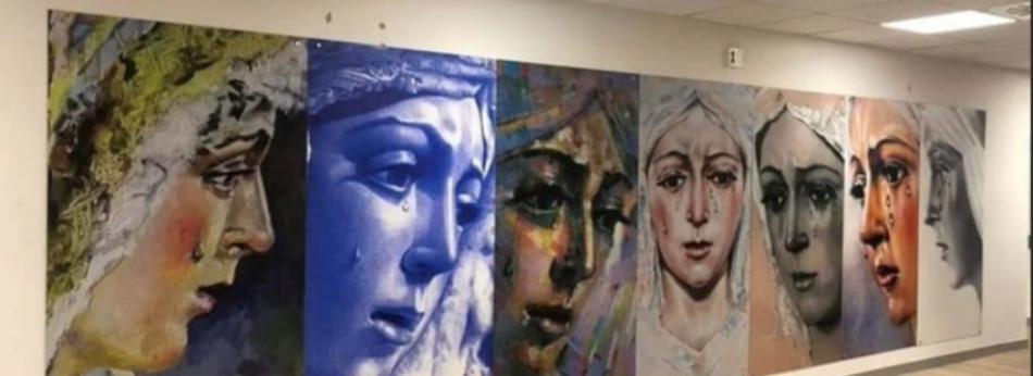 Sevilla Laica, ante las «descalificaciones, insultos e incluso amenazas de muerte» a raiz de la denuncia del mural confesional del Hospital Macarena