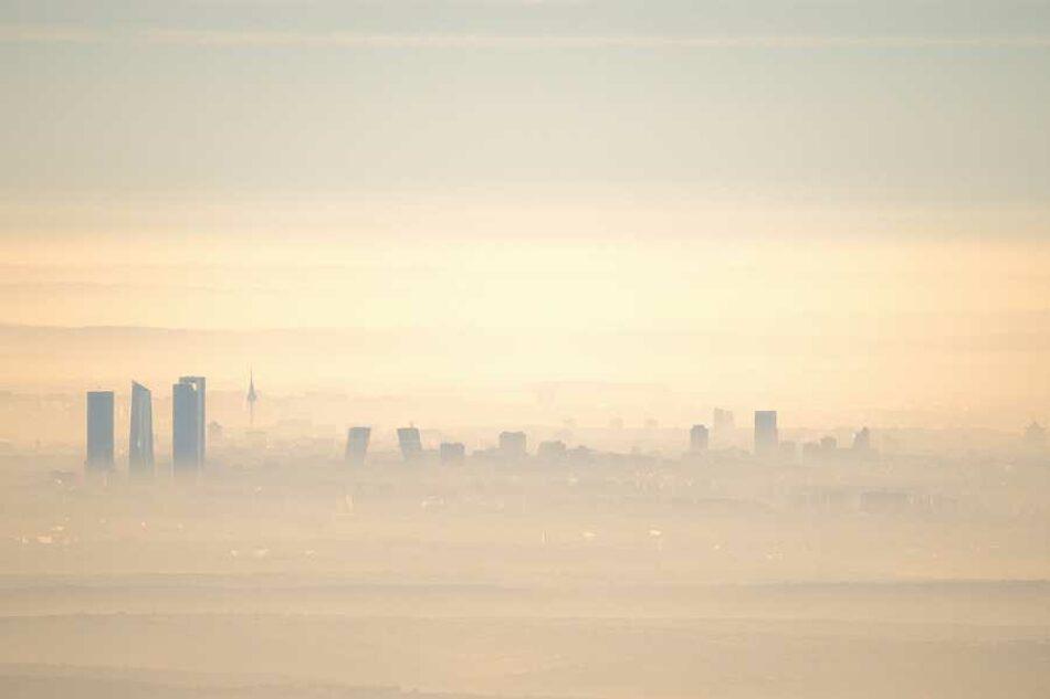 Izquierda Unida lleva a Europa los niveles de contaminación de la ciudad de Madrid