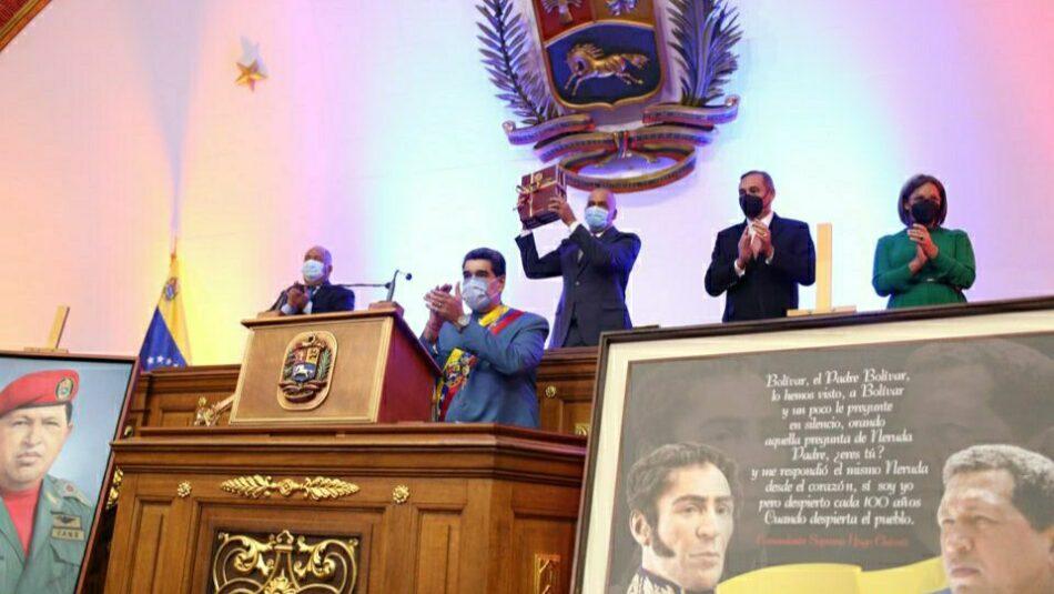 «Debemos pensar como país»: Mensaje anual a la Nación del presidente Nicolás Maduro