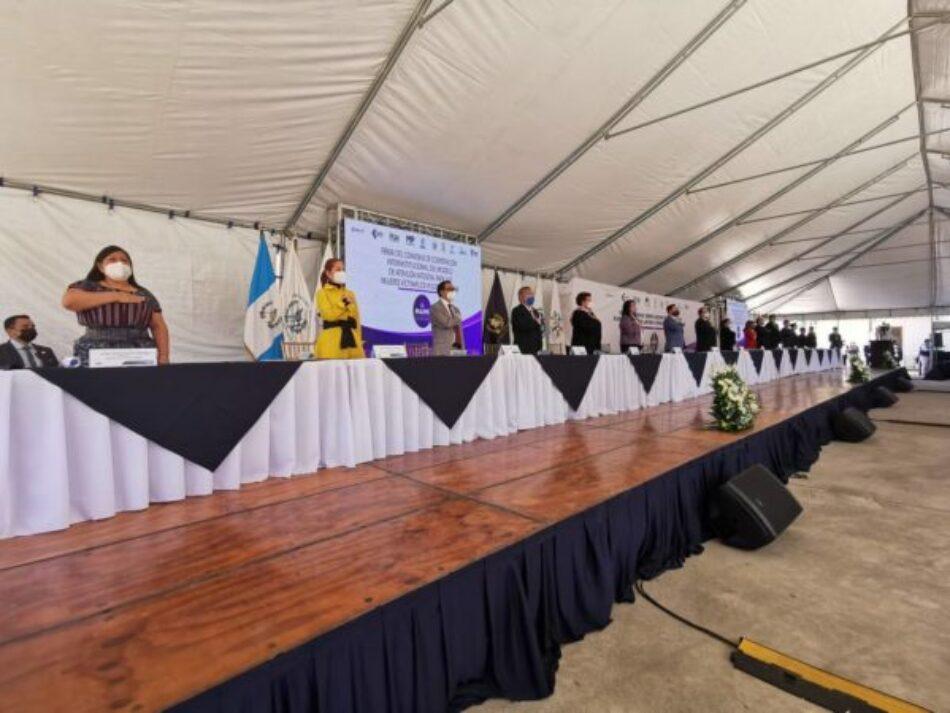 I'x Kem, nuevo modelo de atención integral para mujeres víctimas de violencia en Guatemala