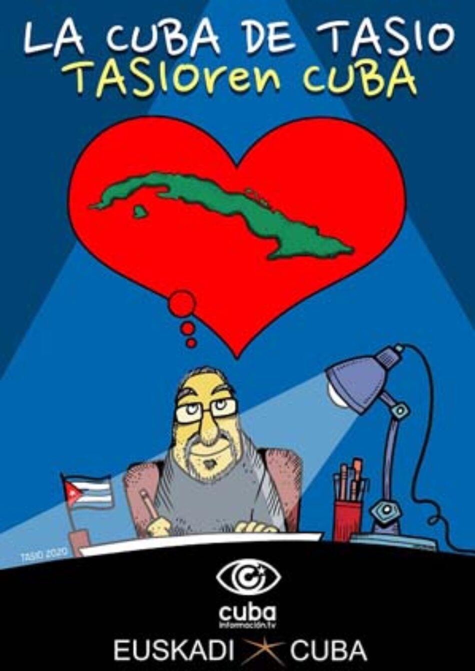 Presentación del libro 'Cuba: verdades y mentiras' y exposición de viñetas 'La Cuba de Tasio': Arrasate-Mondragón, 22 de enero