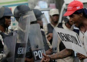 Llaman a levantamiento general contra presidente haitiano