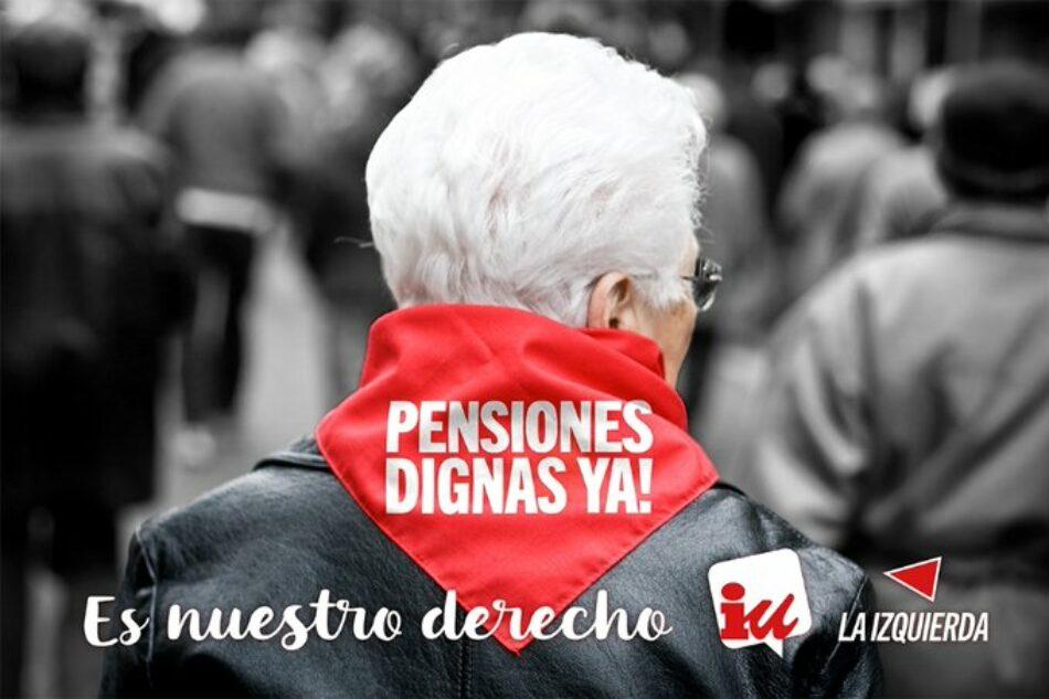 IUCyL rechaza aumentar el periodo de cotización para el cálculo de la pensión a 35 años, supone bajar las pensiones debido a la precariedad laboral