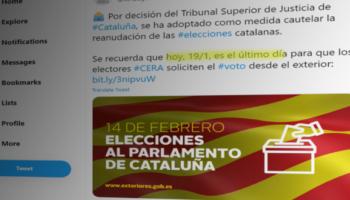 IU Exterior considera una «tomadura de pelo» que la emigración catalana tenga un solo día de plazo para solicitar el voto