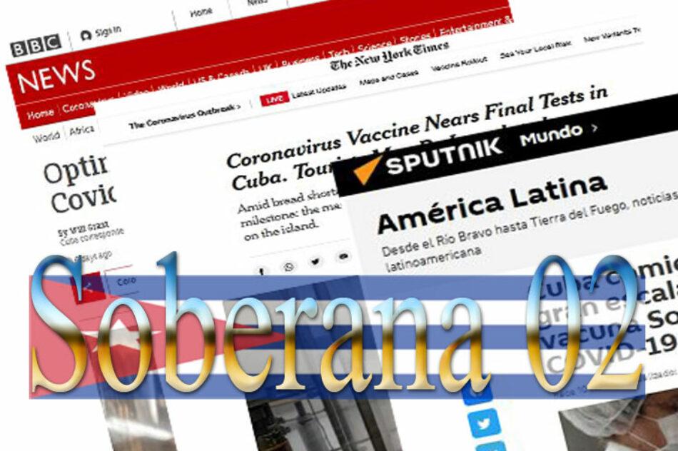 Vacuna Soberana 02 de Cuba es tendencia mundial