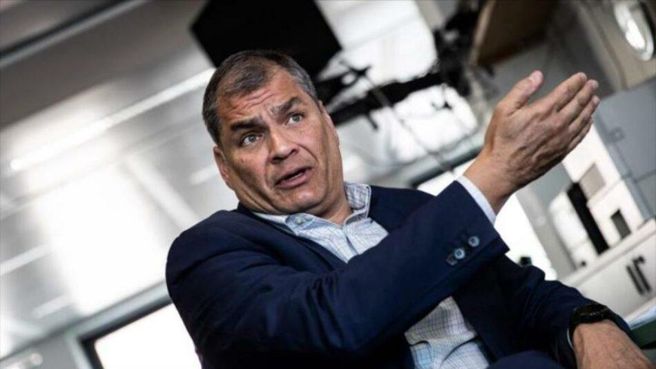 Correa alerta de fraude electoral: Están manipulando las actas