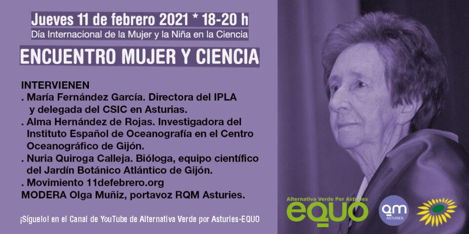 Verdes EQUO organiza el encuentro Mujer y Ciencia