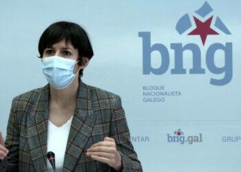 Ana Pontón denuncia que Feixóo non defende os intereses de Galiza ante o reparto Next Generation, clave na reactivación