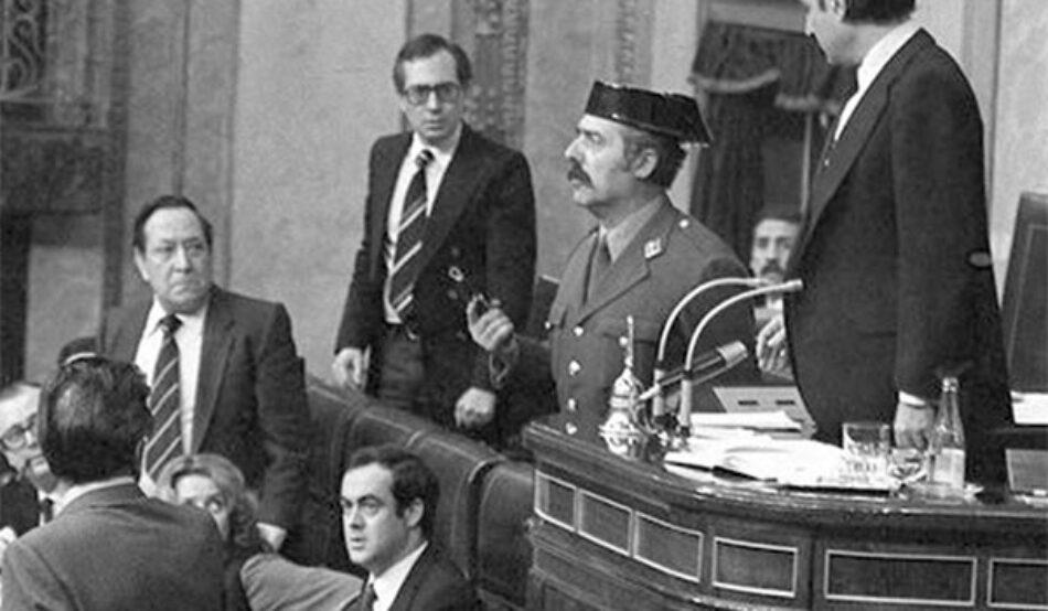 A cuarenta años del 23F, unidad para defender la democracia