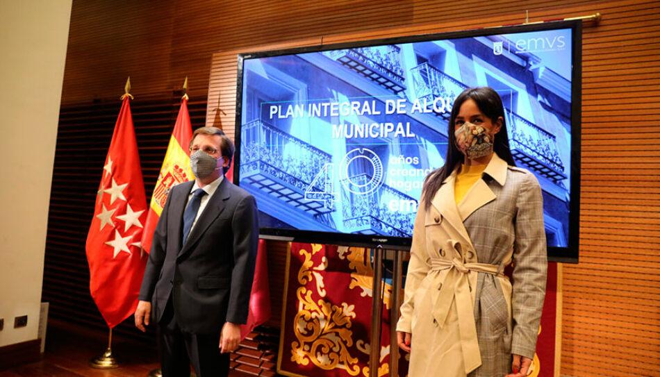 Podemos Madrid plantea la creación de una Oficina Municipal de la Vivienda para generar seguridad jurídica a propietarios e inquilinos