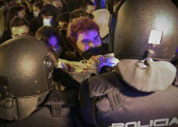 Protestas sin organización con imágenes a la carta