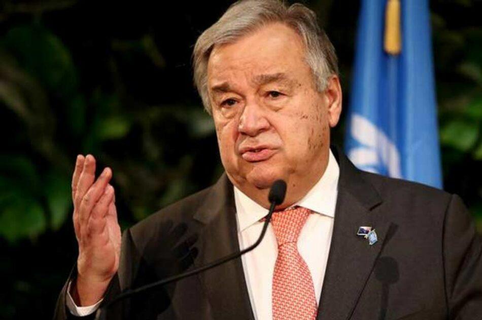 Titular de ONU demanda más ayuda para países en desarrollo