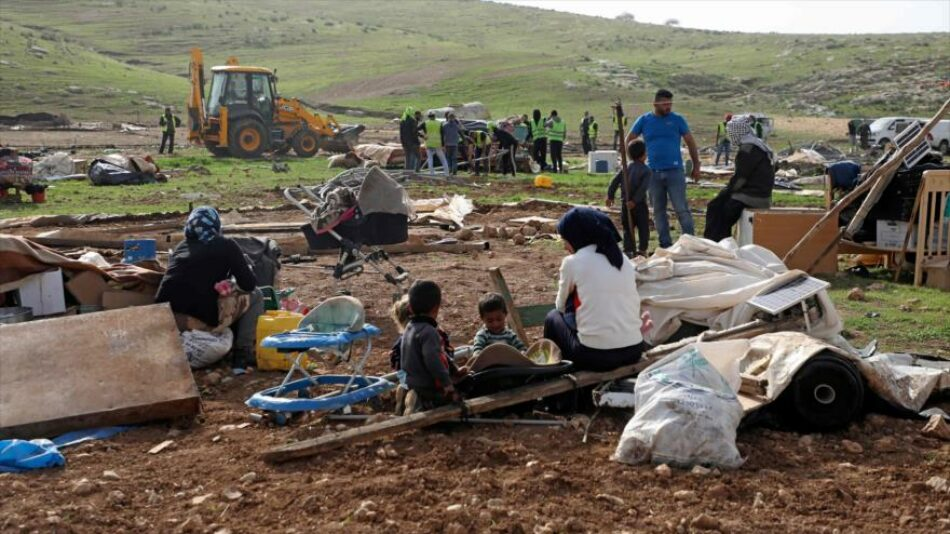 Naciones Unidas urge a Israel a detener la demolición de aldeas palestinas