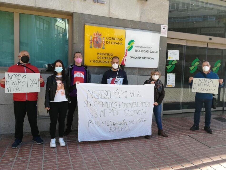 CGT celebra la resolución favorable del Ingreso Mínimo Vital para una madre soltera tras días de protesta