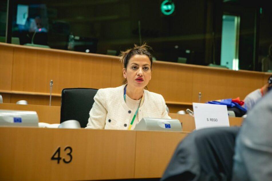 Sira Rego entra a formar parte del grupo que investigará a Frontex en el Parlamento Europeo