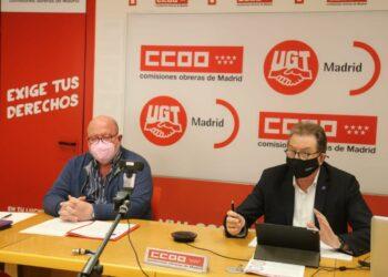 CCOO y UGT convocan una movilización en Madrid para exigir al gobierno retomar la agenda de medidas sociales