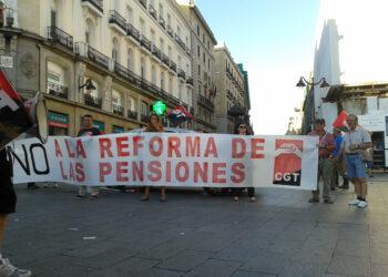 """CGT convoca a la concentración por unas pensiones públicas """"suficientes"""""""