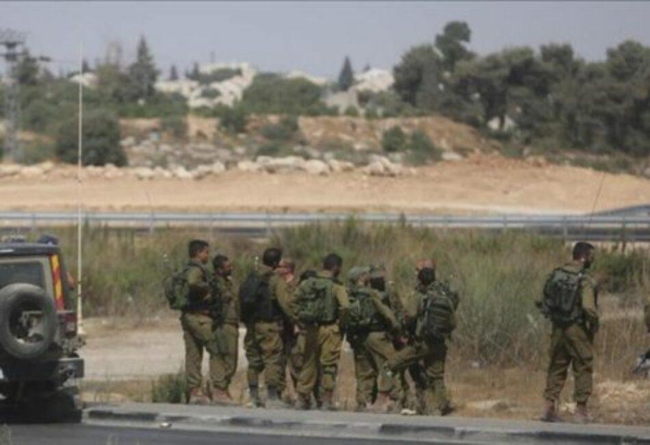 La ocupación israelí anuncia nueva incautación de tierras palestinas al este de Ramallah ocupada