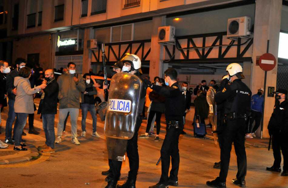 Interponen denuncia ante la Fiscalía Provincial de Jaén por uso desproporcionado de la fuerza durante las protestas de Linares