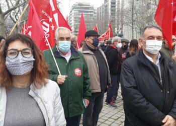 """Movilización 'Ahora Sí Toca' para que """"se suba el SMI, garantizar pensiones dignas y acabar con la reforma laboral del PP"""""""