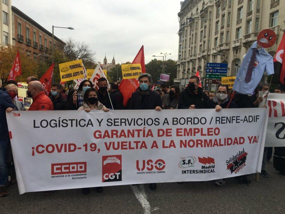 Manu Pineda solicita a la comisaria de Transporte de la UE que medie para que ADIF cumpla con los trabajadores