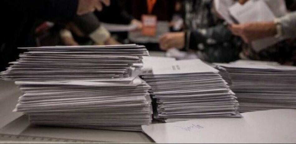 Recortes Cero se felicita por unos resultados en Catalunya que considera excelentes