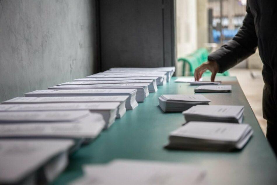 Incertidumbre ante el nivel de participación en el arranque de las elecciones