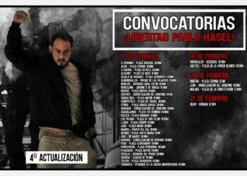 Formalizada la petición de indulto a Pablo Hásel mientras se convocan protestas por su detención en todo el país