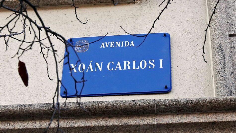 Pontevedra retira honores al emérito y cambia el nombre de la Avenida Juan Carlos I por Virxinia Pereira Renda