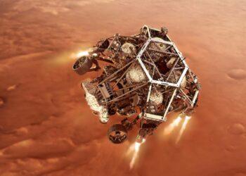La NASA retransmite en español el amartizaje de Perseverance
