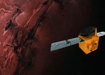 La sonda árabe Hope se enfrenta a su arriesgada llegada al planeta rojo