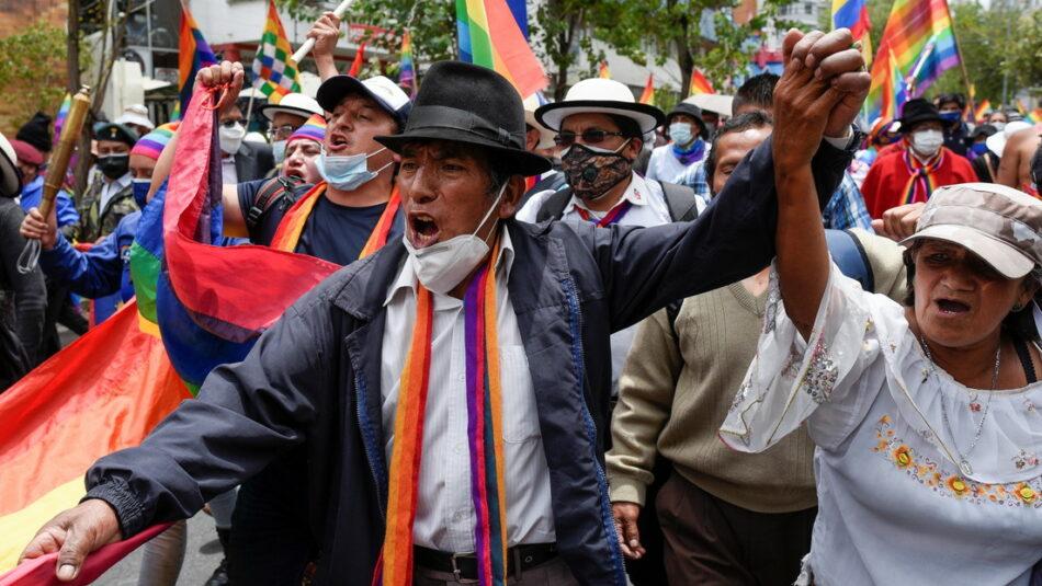 El Pachakutik promueve movilizaciones en Ecuador ante el «fraude electoral»