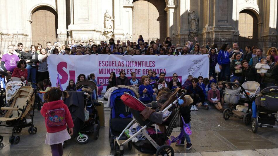 Granada Laica apoya a la Plataforma Sí 0-6 Granada en su defensa de las Escuelas Infantiles Municipales