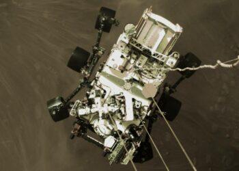 Primeras imágenes en color de Marte captadas por Perseverance