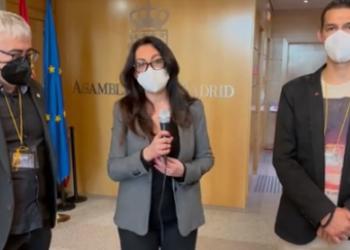 CCOO Industria Madrid comparece en la Comisión de Empleo de la Asamblea de Madrid
