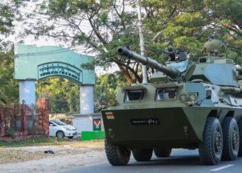 La represión de las protestas en Myanmar deja al menos cinco muertos