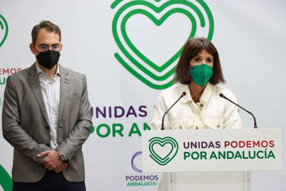 """Nace Unidas Podemos por Andalucía para ser """"alternativa de gobierno a las tres derechas reaccionarias"""""""